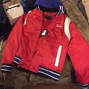 Tommy varsity jacket
